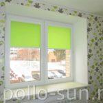 зеленые рулонные шторы самара аполло