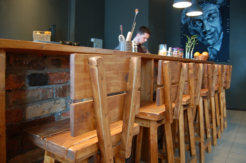Ресторан в Эко стиле