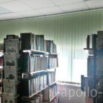 фото вертикальные жалюзи в библиотекуаполло-жалюзи