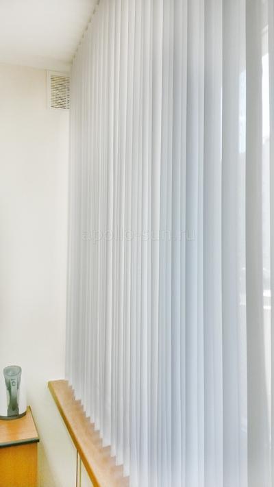вертикальные жалюзи со шторами 2 в 1 самара