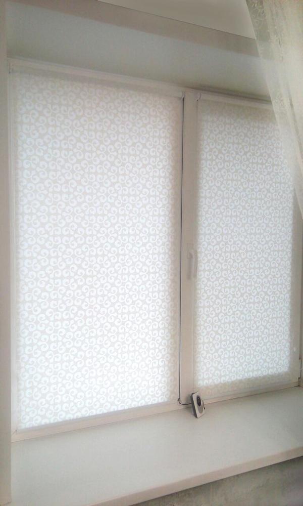 рулонные шторы в спальню европейские ткани