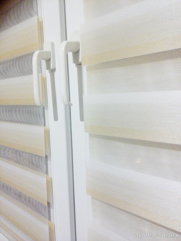 зебра рулонные шторы