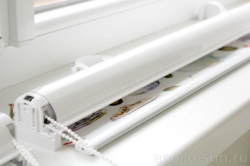 касетные рулонные шторы