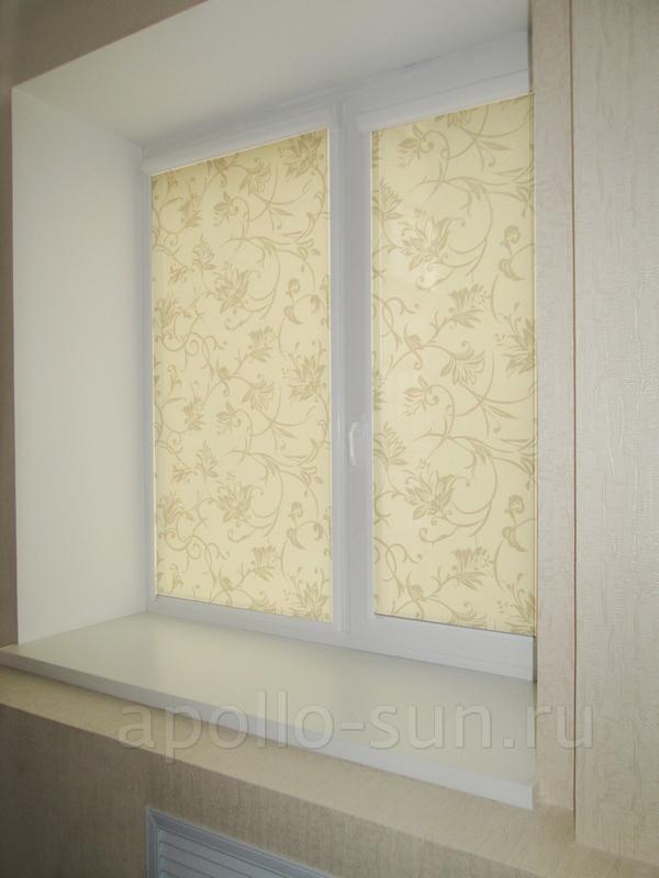 рулонные шторы в спальную комнату в самаре